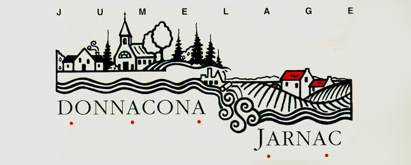 Logo comité du jumelage Donnacona - Jarnac